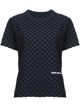 Julien David - Polka Dot T-shirt - Women