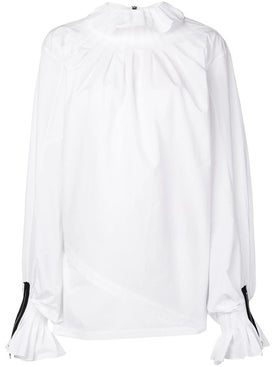 J.w. Anderson - Pleated Collar Blouse White - Women