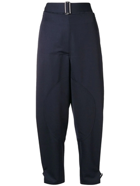 folded front utility trousers