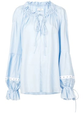 Marques'almeida - Pirate Blouse - Off The Shoulder