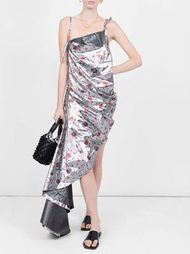 Marques'almeida - Floral Print Asymmetric Dress - Women