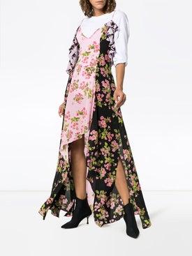 Natasha Zinko - Rose Print Silk Maxi Dress - Women