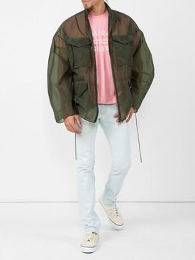 oversized military jacket