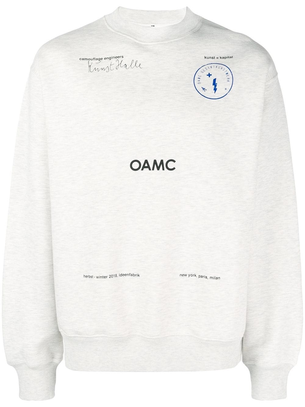 OAMC Kunsthalle Crewneck Black – Feature