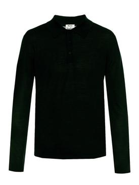 Nadirr polo sweater BLACK