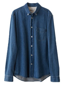 Acne Studios - Isherwood Denim Shirt Rinsed Denim - Men