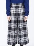 Alexanderwang - High Waisted Plaid Cropped Trousers - Women