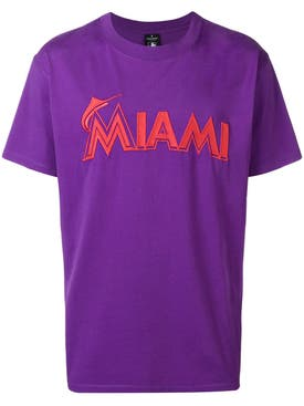 Marcelo Burlon County Of Milan - Marcelo Burlon X Miami Marlins Tee Shirt - Men
