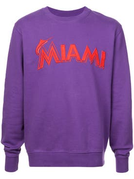 Marcelo Burlon County Of Milan - Miami Marlins Sweatshirt - Men