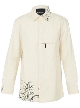 Pocket button down shirt