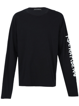 Long sleeve core tee BLACK