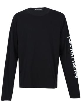 Long sleeve core tee BLACK