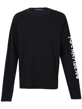 Rochambeau - Long Sleeve Core Tee Black - Men