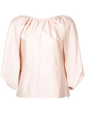 Gabriela Hearst - Duarte Top Pink - Women