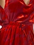 Galvan - Rose Velvet Gown - Women
