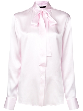 pussy bow blouse PINK
