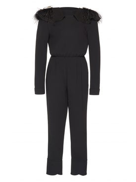 Johanna Ortiz - Feel Me Ruffle Neck Jumpsuit - Women