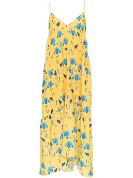 anais floral print dress YELLOW