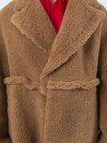 Off-white - Oversized Camel Hair Coat - Men