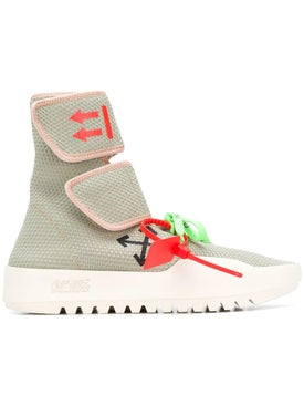 Off-white - Moto Wrap Sneakers Light Grey - Men