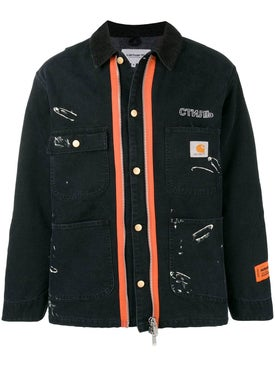 Heron Preston - Heron Preston X Carhartt Wip Workwear Jacket Black - Men