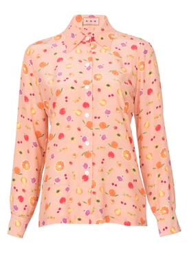 star island blouse PEACH