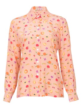 Lhd - Star Island Blouse Peach - Women