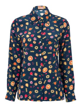 Lhd - Star Island Blouse Navy - Women