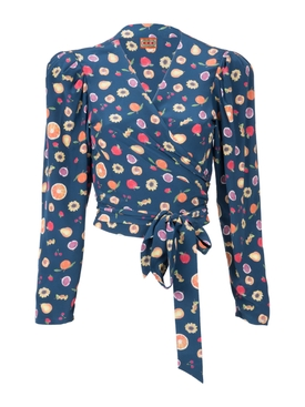 odalys blouse NAVY