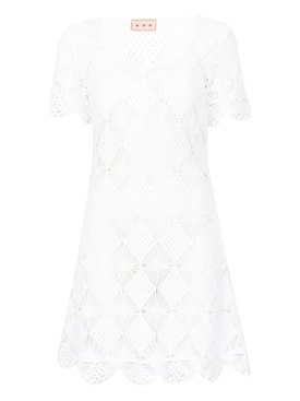 B.B. crochet dress