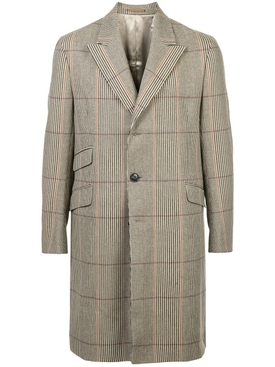 Holiday - Checked Coat - Men