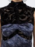 Marine Serre - Contrasting Panel Dress - Women