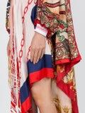 Marine Serre - Upcycled Scarves Dress - Women