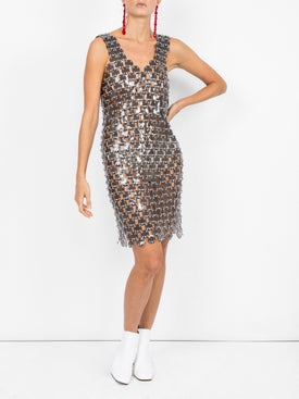 Paco Rabanne - Chain Disc Embellished Dress - Women