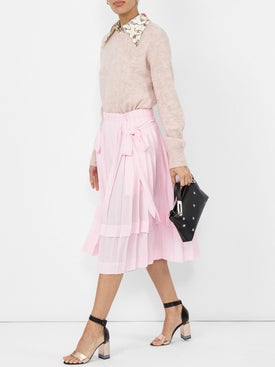 Simone Rocha - Pleated Skirt With Bows - Women