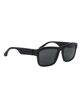 X Maison Margiela Raw Black Sunglasses