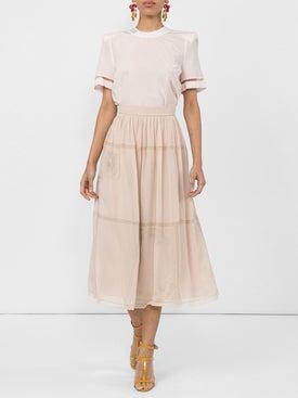 Fendi - Polka Dot Midi Skirt - Women