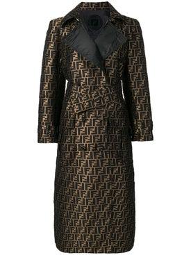 Fendi - Ff Motif Trench Coat - Women