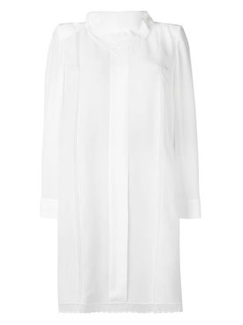 Fendi - Handkerchief Collar Dress - Women