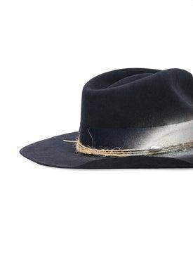 Nick Fouquet - The Soloist Sprayed Detail Hat Navy - Men