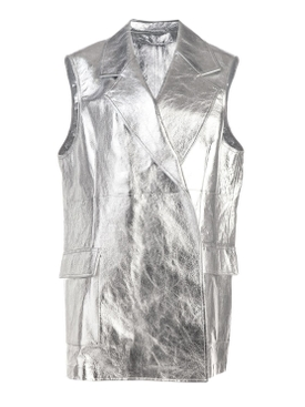 Calvin Klein 205w39nyc - Metallic Long Vest - Women