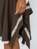 Chloé - Lace-embroidered Draped Skirt - Women