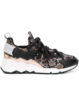 Pierre Hardy - Trek Comet Sneaker Silver/neutral - Women