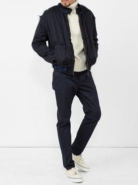 Vetements - Inside Out Harrington Jacket Dark Blue - Men