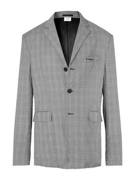 Wrinkled suit jacket GREY