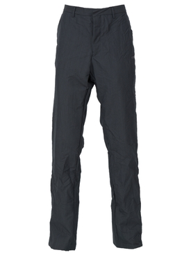 Wrinkled suit trousers DARK BLUE
