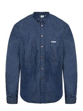 Vetements - Vetements X Levi's Denim Shirt Dark Blue - Men