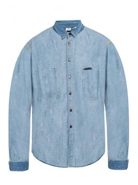 Vetements - Vetements X Levi's Denim Shirt Light Blue - Men