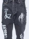 Vetements - Vetements X Levi's Tribal Detail Jeans Black - Men