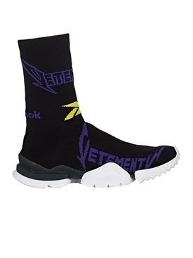 metal socks sneakers BLACK/PURPLE
